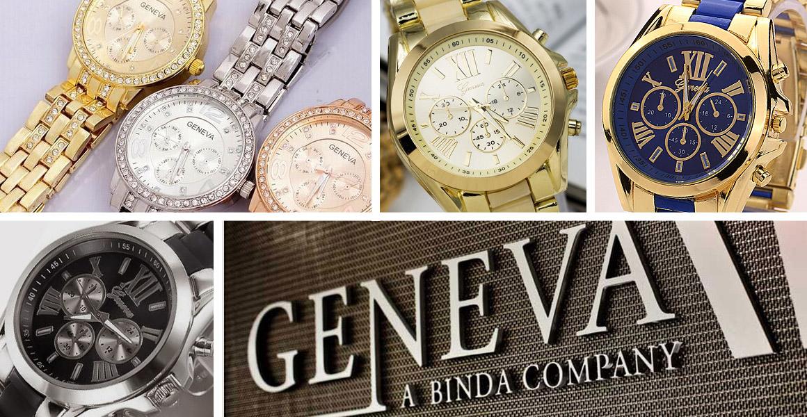 Dámské hodinky Geneva ... 847c531664