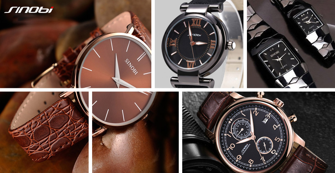 Z ostatních modelů Vám můžeme doporučit hranaté černé dámské hodinky nebo  originální barevné hodinky Sinobi pro ženy. Muže jistě potěší elegantní  celokovové ... f470c1215c3